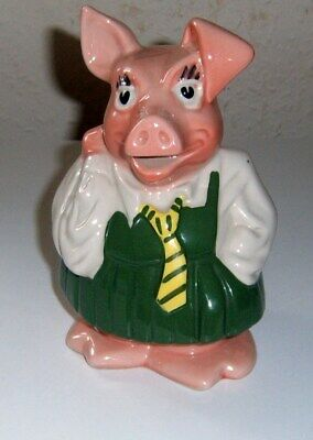 Wade Annabel Nat-west Ceramic Pig & Original Stopper ( Great Condition )  • 4.99£