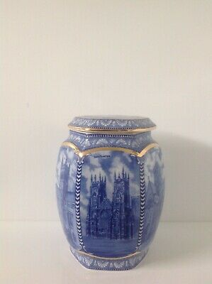 Ringtons Abbeys And Cathedrals Ceramic Jar With Lid Made By Wade Ceramics • 7£
