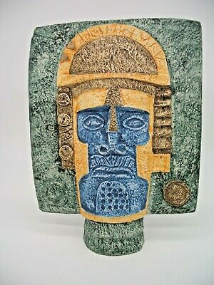 Troika Mask Decorated By Avril Bennett • 995£