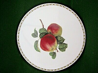 Queens Royal Horticultural Society Hookers Fruit Cake Plate/Cheese Plate 27cm • 9.99£