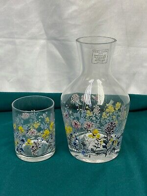 Laura Ashley Meadow Flowers Carafe And Tumbler • 15£