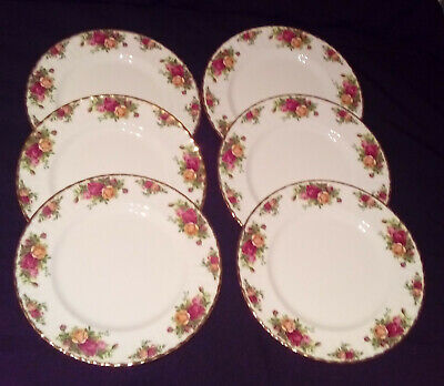 Royal Albert Old Country Roses Gorgeous 10 Inch Dinner Plate's Floral Pattern • 55£