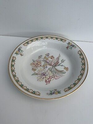 Royal Winton Pin Dish With Peacock And Flowers  14cm  • 3.50£