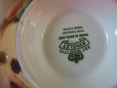 Aynsley Orchard Cup And Saucer  • 49.99£