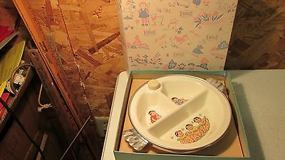 Antique Excello Baby Plate- MIB • 35.08£