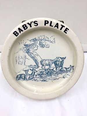 Early Carlton Ware Babys Plate  • 65£