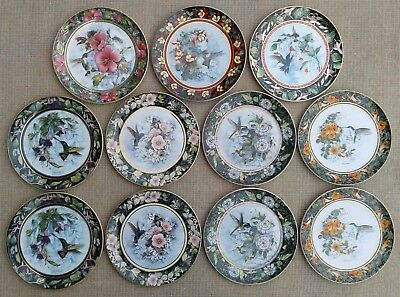 Royal Doulton - Selection Of Fine Bone China Hummingbird Plates - Ltd Edn • 9.99£