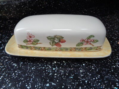 Johnson Brothers Arcadia Lidded Butter Dish • 15£