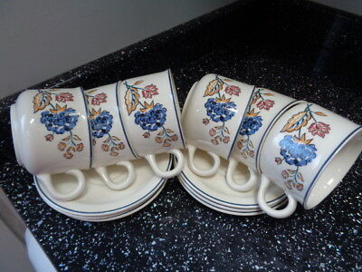 Boots Camargue Cups And Saucers X 6 • 30£