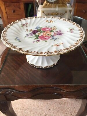 Crown Staffordshire Cake Stand • 15£
