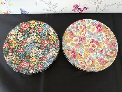 Choice Of Burlington Ware Chintz Vintage China Saucers  • 7.99£