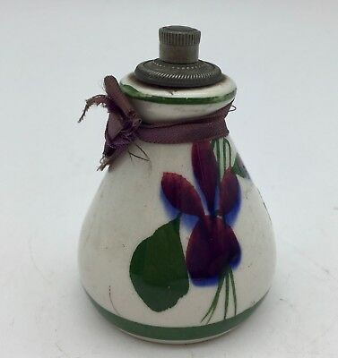 Devon Pottery Perfume Bottle Circa 1940 • 35£