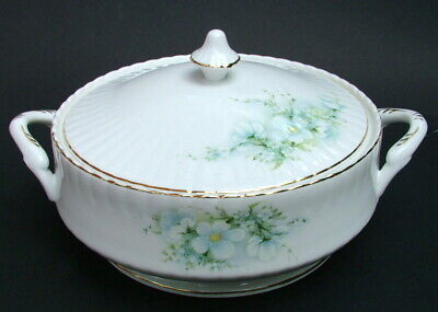 Royal Stafford Blossom Time Pattern Vegetable Tureen  & Lid 28cm - Looks In VGC • 35£