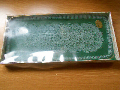 Chance  Glass Oblong Plate In Original Packaging With Label C1951 • 12.99£
