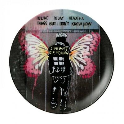 Royal Doulton Street Art BEAUTIFUL THINGS Pure Evil Collector Plate Lt Ed NEWBOX • 50£