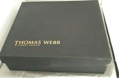 Thomas Webb Decanter And 4 Glasses In Original Presentation Box • 48.99£