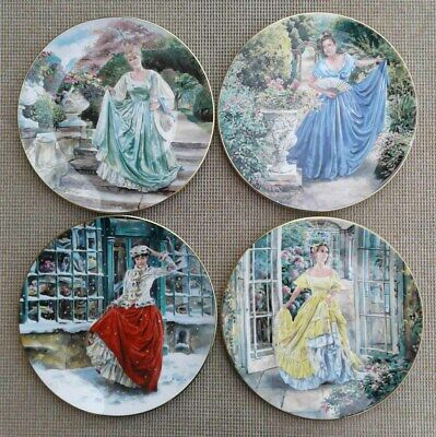 ROYAL DOULTON SELECTION OF LADY FIGURINE PLATES By NEIL FAULKNER • 12.99£