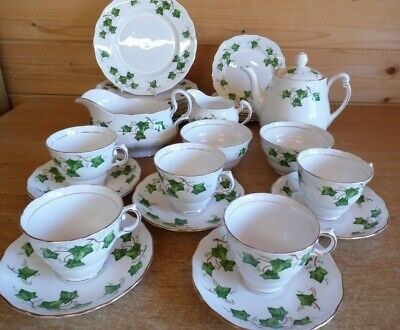 Colclough Bone China Ivy Leaf Tea Set And Tableware - Multibuy Discounts • 8.95£