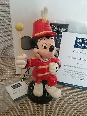 ROYAL DOULTON DISNEY. Mickey Mouse Club, Limited Edition 0971/1000 • 45£