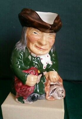 Roy Kirkham Vintage Toby Jug - The Thief Hand-painted, Staffordshire, England • 8£