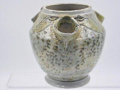 Rare Martin Brothers Stoneware Vase With Long Eared Creatures.  • 650£