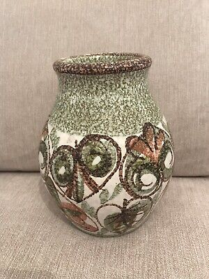 Rare Denby Pottery Glyn Colledge Bulbous Vase Stoneware Lovely Signed • 19.95£