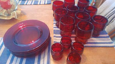 Ruby Red Glass • 36.83£