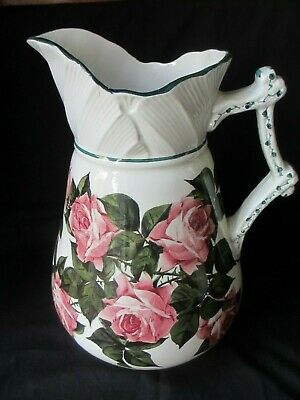 Huge Statement Piece ,Wemyss Ware Jug ,cabbage Roses ,1930 ,slight Damage • 285£