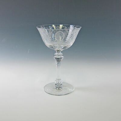 Tiffin Crystal JUNE NIGHT Champagne/Tall Sherbet(s)Multi Avail EX • 9.56£