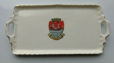 Crested China Sidmouth Tray Miniature Pottery Gemma • 15£