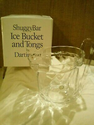 Stylish Dartington Frank Thrower Shuggybar Ice Bucket And Tongs - Boxed • 35£