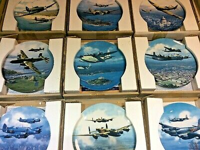 WWII RAF Aircraft/Plane ROYAL DOULTON BRADEX Collector Plates - YOU CHOOSE • 17.95£