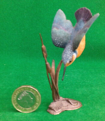 Border Fine Arts - Kingfisher On Bronze. • 19.99£