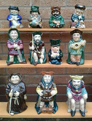 Roy Kirkham Pottery - Selection Of Character / Toby Jugs. • 12.99£
