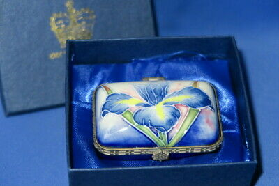 Old Tupton Ware Hand Crafted Box Iris Design - Boxed • 12.99£