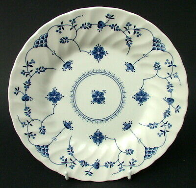 Churchill Blue Finlandia Pattern Salad Dessert Starter Plates 20cmw NEW & UNUSED • 5.95£