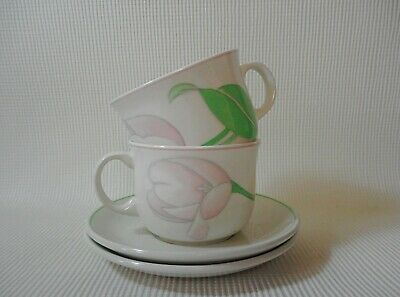Two  Midwinter Reflex Enchantment Cups & Saucers  Great Condition  • 5.25£