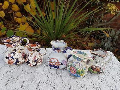 5 X Mixed Lots Masons Ironstone Jugs • 20£