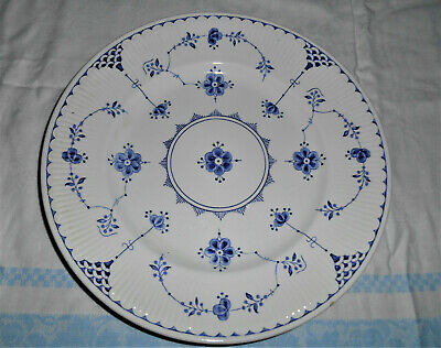 Blue And White Furnivals Denmark Dinner Plate 10 Inches Vintage England • 25.30£