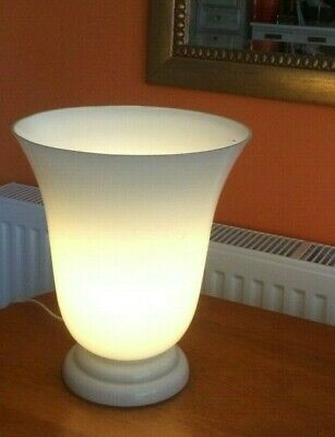Vintage Holmgaard Art Glass Retro Mid Century  Opaque Glass Table Lamp • 15£