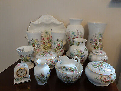 Aynsley 'Wild Tudor' Tableware And Decorative Items, Select Your Item Below • 5£