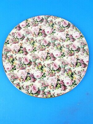 Chintz Collection Royal Garden Floral Pattern Dinner Dish Plate  • 15.95£