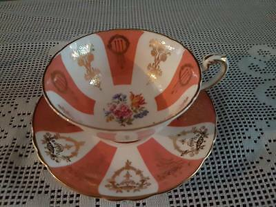 Paragon Floral Pattern Cup And Saucer • 20£