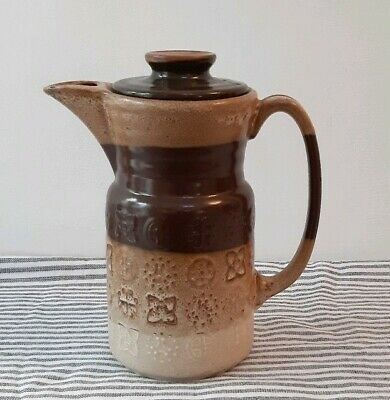 Vintage Coffee Pot Lord Nelson Rustic Scandi Style Pottery  • 18.99£