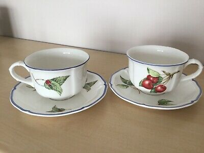 Villeroy & Boch Country Collection Cottage Teacup And Saucer • 7.99£