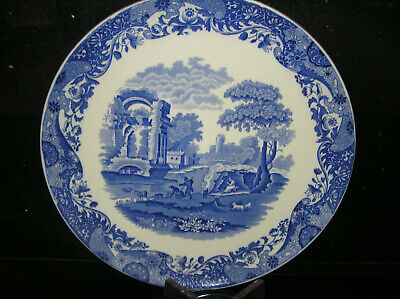 Very Rare Vintage Copeland Spode Blue Italian Large Wall Charger 14  Across  • 111£