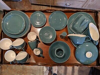 Poole Pottery Blue Moon Dinner Service Items • 15£