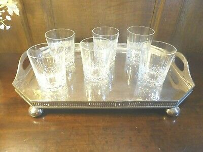 EXCELLENT EDINBURGH Crystal  APPIN  SET Of 6 JUICE/WHISKY TUMBLERS/GLASSES - 4   • 39.95£
