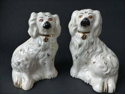 Royal Doulton - Vintage Pair Of Royal Doulton Wally Dogs, Mantle Dogs • 39.99£