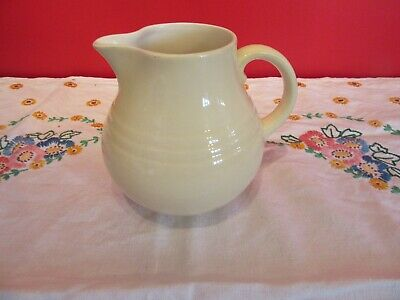 Lovely Vintage  Royal Winton Grimwades Pale Yellow Custard Jug • 8£